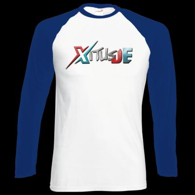 Motiv: Longsleeve Baseball T - XitusDE Logo