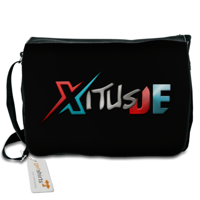 Motiv: Schultertasche - XitusDE Logo