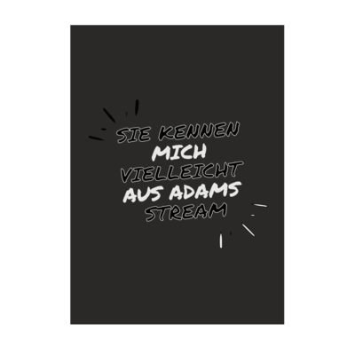 Motiv: Poster A1 - Adams Stream