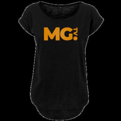 Motiv: Ladies Long Slub Tee - Massengeschmack-Logo