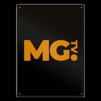Motiv: Metallschild - Massengeschmack-Logo