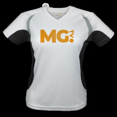 Motiv: Laufshirt Lady Running T - Massengeschmack-Logo