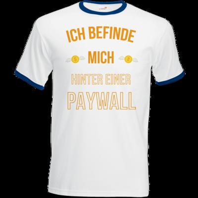 Motiv: T-Shirt Ringer - Paywall