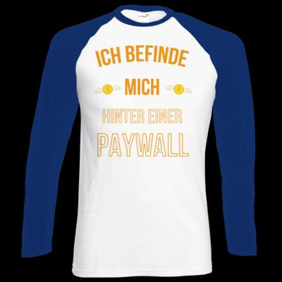 Motiv: Longsleeve Baseball T - Paywall