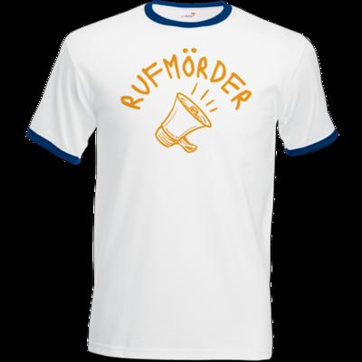 Motiv: T-Shirt Ringer - Rufmörder