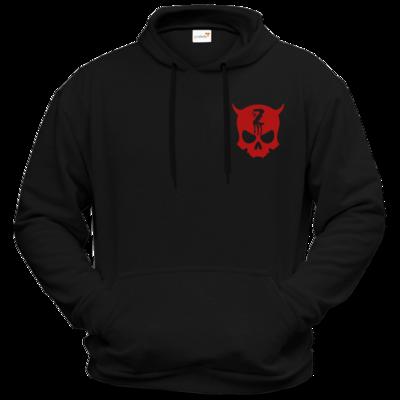 Motiv: Hoodie Premium FAIR WEAR - Official ZAX73 Skull RED