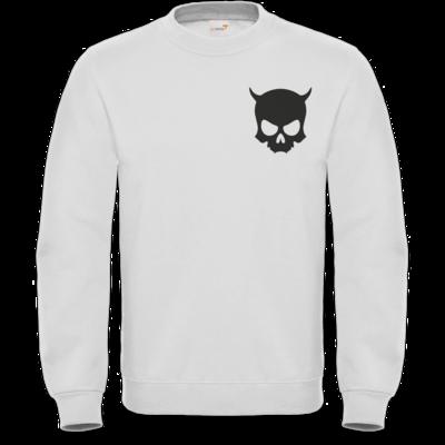 Motiv: Sweatshirt FAIR WEAR - ZAX73 Skull ohne Z BLACK