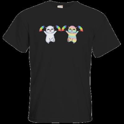 Motiv: T-Shirt Premium FAIR WEAR - Pride-Floof