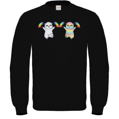 Motiv: Sweatshirt FAIR WEAR - Pride-Floof