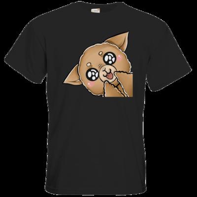 Motiv: T-Shirt Premium FAIR WEAR - Hauself-Alpaka