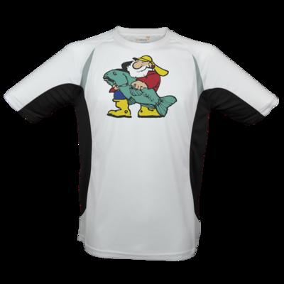 Motiv: Laufshirt Running T - Der Fischmann