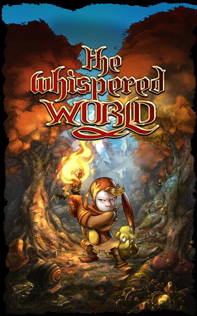 The Whispered World - Artwork