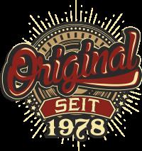 Geburtstag Original seit 1978
