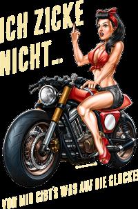 Biker - Lady Glocke