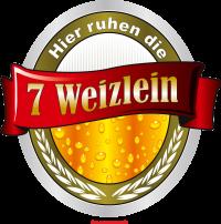 Bier - Hier ruhen die 7 Weizlein