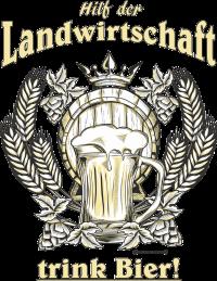 Bier - Hilf der Landwirtschaft