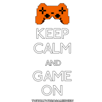 Keep Calm Game On