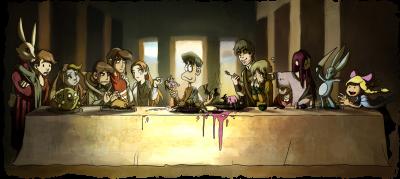 Hommage - Abendmahl