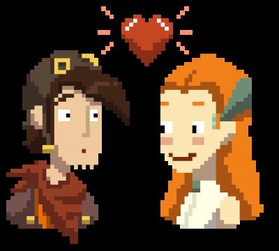 Deponia - Pixel Liebe