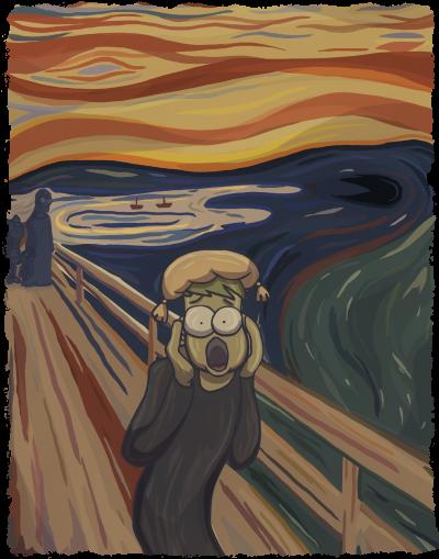 Hommage - Der Schrei