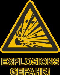 Fun Explosionsgefahr