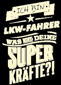Superkraefte LKW-Fahrer