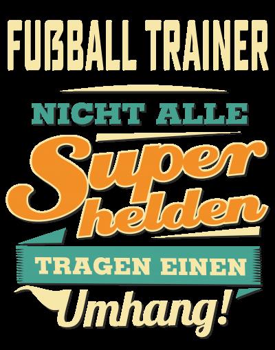 Superhelden Umhang - Fussball Trainer