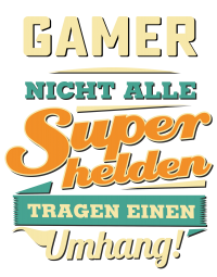 Superhelden Umhang - Gamer