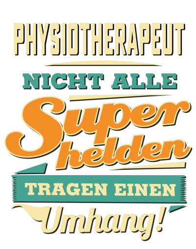 Superhelden Umhang - Physiotherapeut