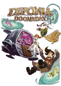 Deponia Doomsday - Artwork