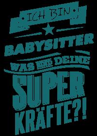 Superpower Babysitter - petrol