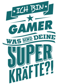 Superpower Gamer - petrol