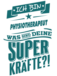 Superpower Physiotherapeut - petrol