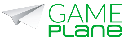 Gameplane Logo gruen