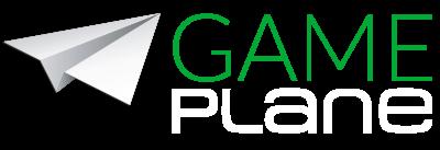 Gameplane Logo gruenweiss