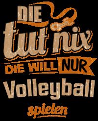 Die tut nix - Die will nur Volleyball