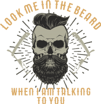 Biker - Look me in the beard