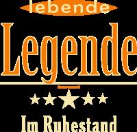 Geburtstag - lebende Legende im Ruhestand