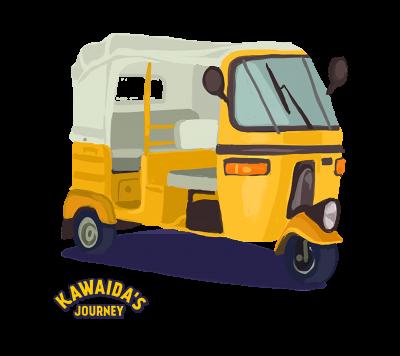 Kawaida's Journey - Bajaji
