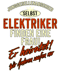 JGA Team - Elektriker - red