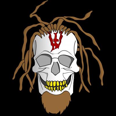 Whitey - Pixel Skull