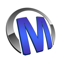 Macho - Logo - Blau