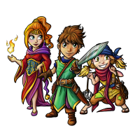 Helden von Mystics of Mana