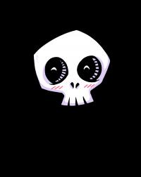 scrumpy - happy skull