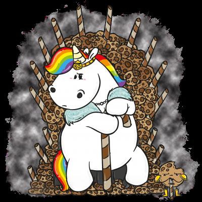 Pummeleinhorn - Cookie Throne