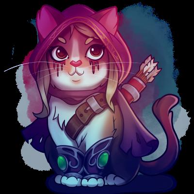 Kitty - Sylvanas (wow)