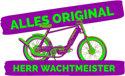 Alles original, Herr Wachtmeister - Mofa tuning