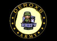 Deroxs Army DeroxsTV Logo Kreis