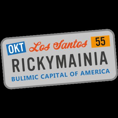 Rickymainia Kennzeichen