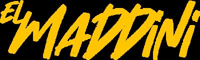 Elmaddini-Schriftzug